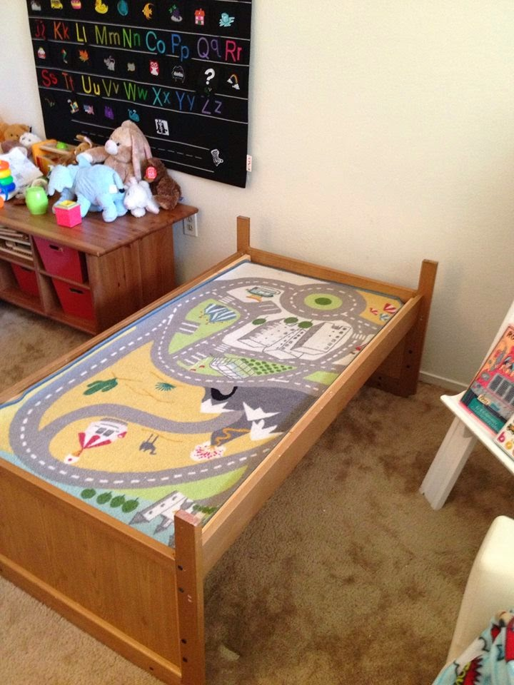 Toddler Bed To Train Table In Less Than 5 Minutes