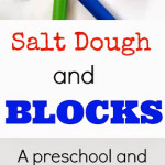 S.T.E.M. Activity with Salt Dough and Blocks