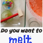 Snowman Ice Melting Activity