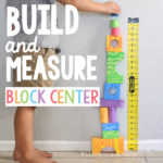 Preschool Build and Measure Center