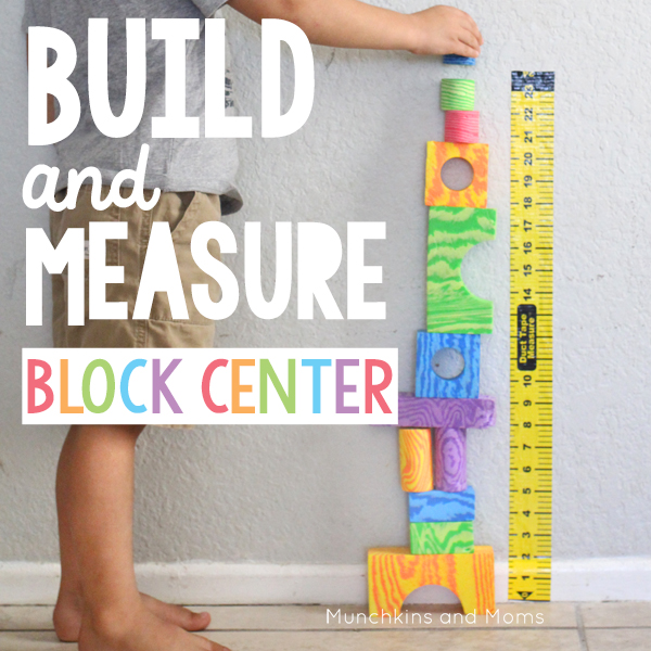 Stem School Kindergarten: Preschool Build And Measure Center