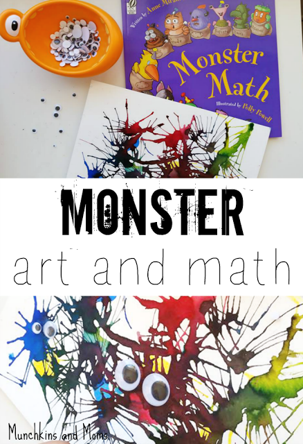 http://www.munchkins-and-moms.com/2015/04/monster-art-and-math-activity.html