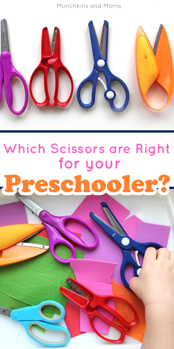 preschool scissors the best scissors to introduce to preschoolers munchkins 916