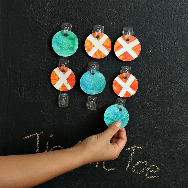 Simple Tic-Tac-Toe craft for preteens!