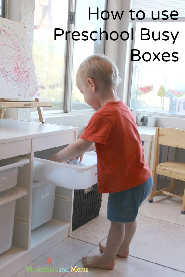 How to use busy boxes for preschoolers- everything you need to know!