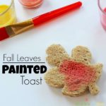 Fall Leaves Painted Toast
