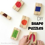 DIY Shape Puzzles