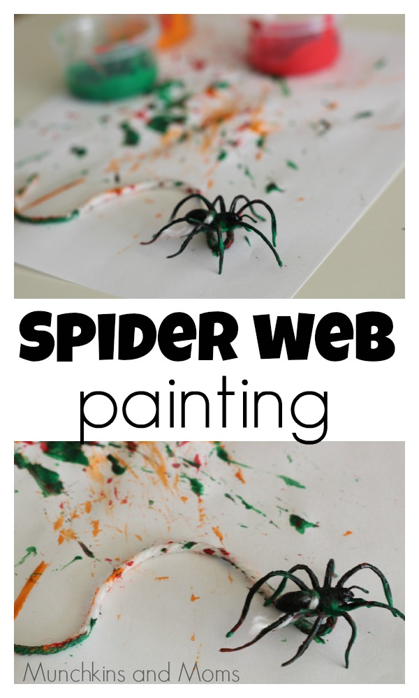 spider web painting -9