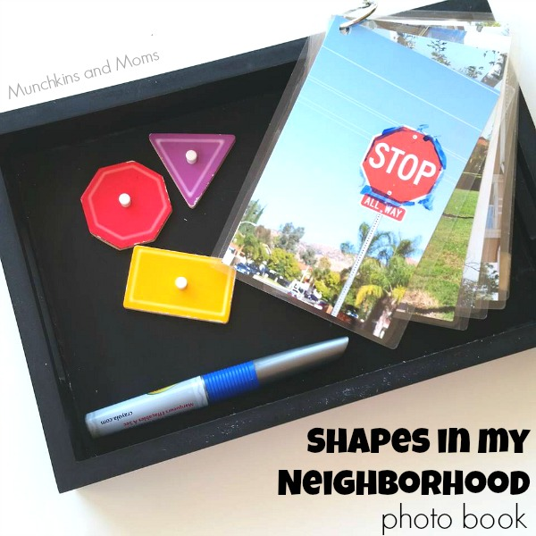 Shapes in my Neighborhood photo book