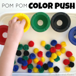 Pom Pom Color Push