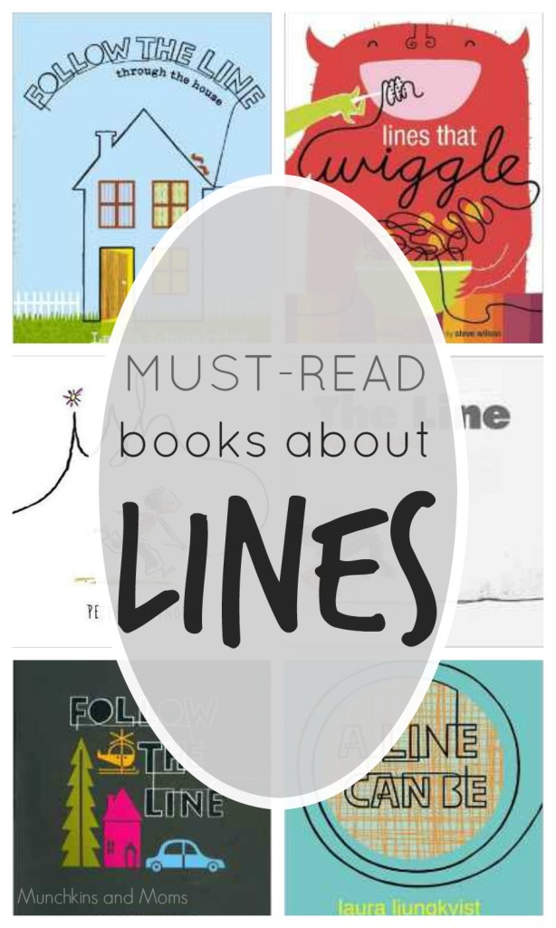 Must-Read Books about Lines- A great selection of books that start with the basics! Perfect for preschool art and math lessons.