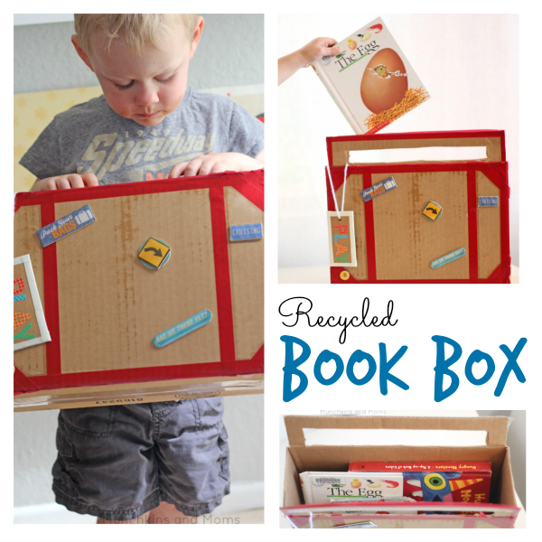 DIY preschool book box!