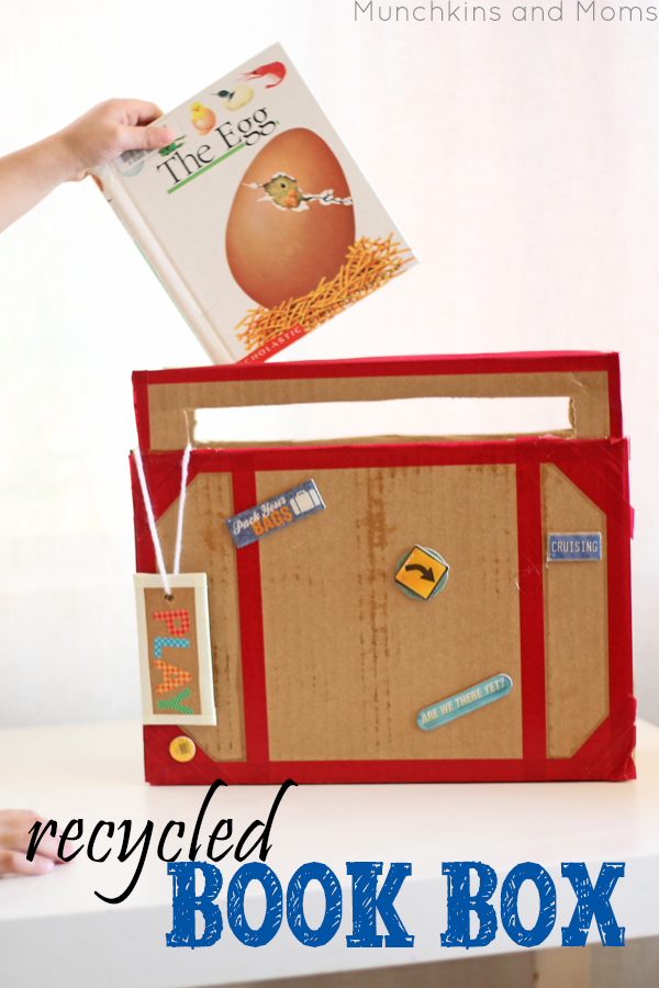 Preschool Book Box- great for dramatic play centers too!