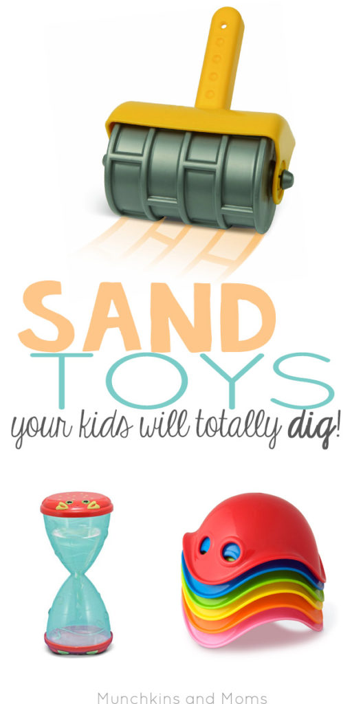 These aren't your childhood shovel and pail- these sand toys make me wish I was a kid again! Perfect for the beach, sand tables, or playground sand boxes.