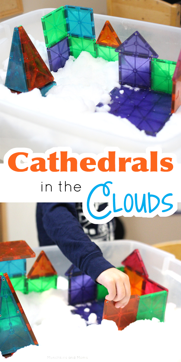 Magnetic Tiles Cathedrals In The Clouds Magna Tiles