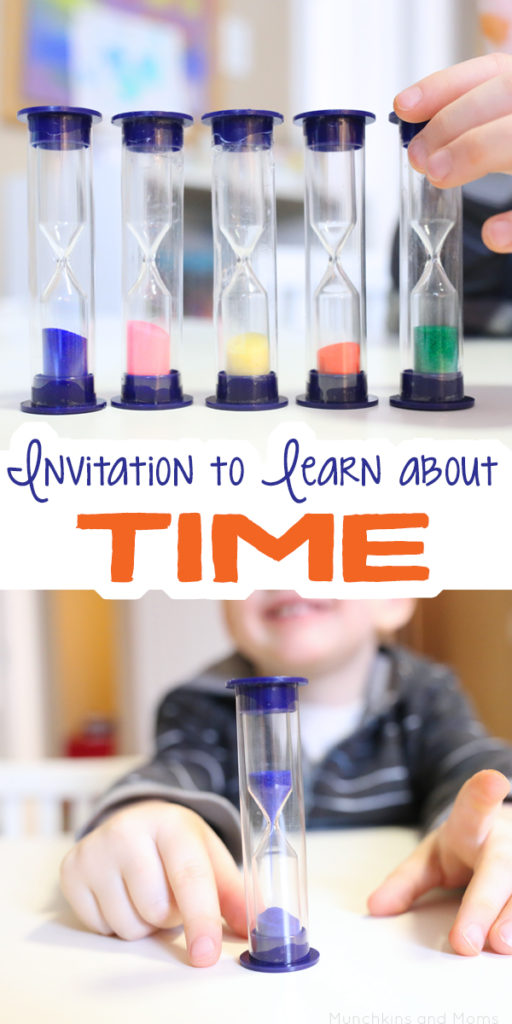 Teach preschoolers time with this simple idea!