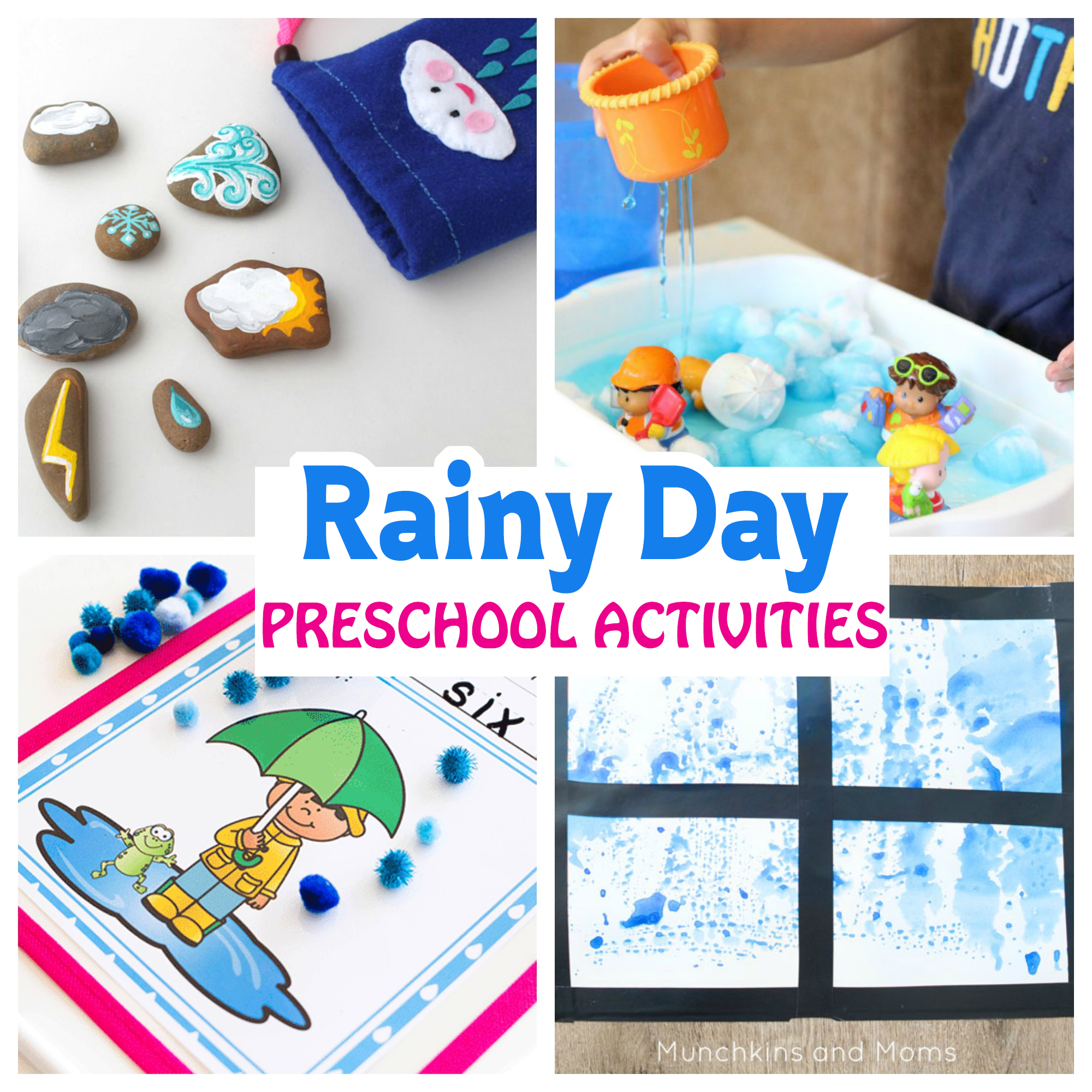 Rainy Day Preschool Activities Munchkins And Moms